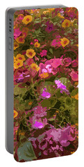 Rosy Garden Portable Battery Charger