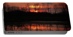 Rosy Mist Sunrise Portable Battery Charger