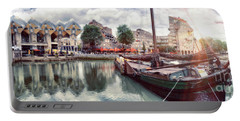 Rotterdam Landscape Portable Battery Charger