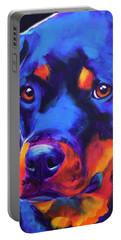 Rottweiler - Dexter Serious Portable Battery Charger