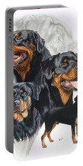 Rottweiler Medley Portable Battery Charger