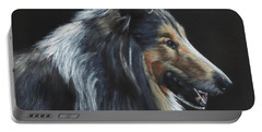 Rough Collie Portable Battery Charger