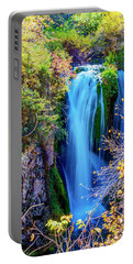 Portable Battery Charger featuring the photograph Rough Lock Falls by Norman Hall
