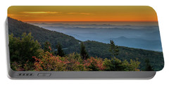 Rough Morning - Blue Ridge Parkway Sunrise Portable Battery Charger