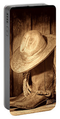 Rough Rider Portable Battery Charger by American West Legend By Olivier Le Queinec