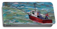 Rough Sea Portable Battery Charger by Mike Caitham