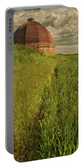 Round Barn Portable Battery Charger