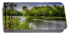 Portable Battery Charger featuring the photograph Round The Bend In Oil 36 by Mark Myhaver