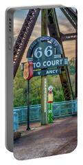 Route 66 Chain Of Rocks Bridge St Louis 7r2_dsc2299_10012017 Portable Battery Charger