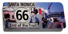 Route 66 End Of Trail Portable Battery Charger
