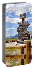 Route 66 Sign Post Portable Battery Charger