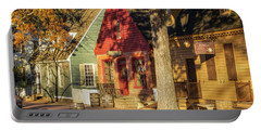 Row Houses Duke Of Gloucester Colonial Williamsburg Portable Battery Charger