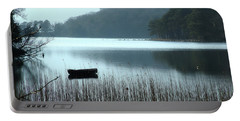 Rowboat On Muckross Lake Portable Battery Charger