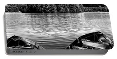 Portable Battery Charger featuring the photograph Rowboats At The Dock 4 by David Patterson