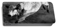 Rowdy Bucking Bull Portable Battery Charger