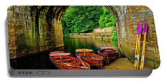 Rowing Boats In Durham City Portable Battery Charger