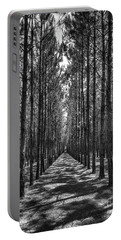 Rows Of Pines Vertical Portable Battery Charger