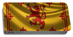 Royal Banner Of The Royal Arms Of Scotland Portable Battery Charger