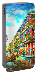 Royal Carriage - New Orleans French Quarter Portable Battery Charger