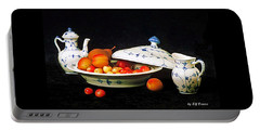 Royal Copenhagen And Fruits Portable Battery Charger