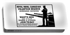 Royal Naval Canadian Volunteer Reserve Portable Battery Charger