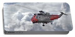 Portable Battery Charger featuring the photograph Royal Navy - Sea King by Pat Speirs