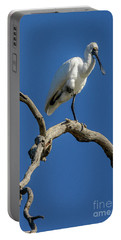 Royal Spoonbill 01 Portable Battery Charger