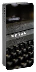 Royal Typewriter #19 Portable Battery Charger
