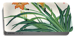 Portable Battery Charger featuring the painting Roys Collection 1 by John Jr Gholson