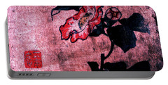 Portable Battery Charger featuring the painting Roys Collection 4 by John Jr Gholson
