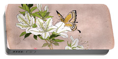 Portable Battery Charger featuring the painting Roys Collection 5 by John Jr Gholson