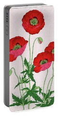Portable Battery Charger featuring the painting Roys Collection 7 by John Jr Gholson