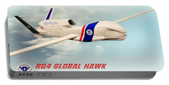 Rq4 Global Hawk Drone United States Portable Battery Charger