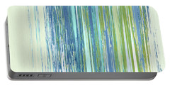 Portable Battery Charger featuring the digital art Rainy Street by Gina Harrison