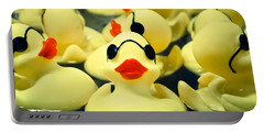 Rubber Duckie Portable Battery Charger by Colleen Kammerer