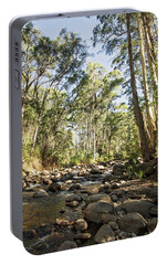 Portable Battery Charger featuring the photograph Rubicon River by Linda Lees