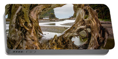 Ruby Beach Driftwood 2007 Portable Battery Charger