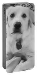 Portable Battery Charger featuring the photograph Ruby by Bruce Carpenter