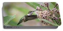 Ruby Throated Hummingbird 2016-1 Portable Battery Charger