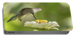 Ruby Throated Hummingbird 2016-8 Portable Battery Charger