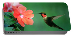 Ruby-throated Hummingbird Portable Battery Charger