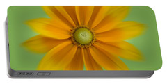 Rudbeckia Blossom Irish Eyes - Square Portable Battery Charger