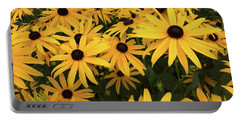 Rudbeckia Fulgida Goldsturm Portable Battery Charger