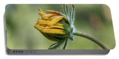 Rudbeckia Fuzzy Bud Portable Battery Charger