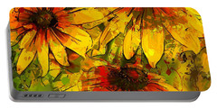Rudbeckia Hirta Portable Battery Charger
