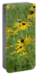 Portable Battery Charger featuring the photograph Rudbeckia Hirta by Maria Urso