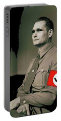Rudolf Hess Portrait Circa 1935 Color Added 2016 Portable Battery Charger