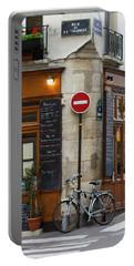 Rue De La Colombe - Paris Photograph Portable Battery Charger