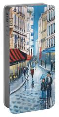 Rue De La Huchette, Paris 5e Portable Battery Charger