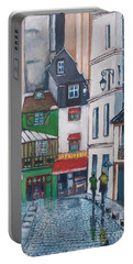Rue Galande, Paris Portable Battery Charger